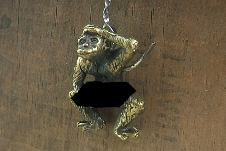 Rude Monkey Charm or Pendant (for MATURE AUDIENCES ONLY)