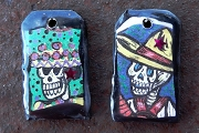 Handmade Charm Set - Catrina and Catrin by Los Mestizos
